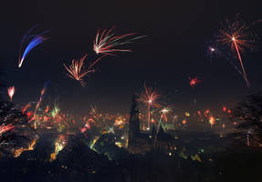 New Year in Freiburg by orestART