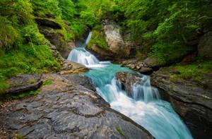 Reichenbach Falls by orestART