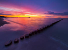 Evening at the Baltic sea by orestART