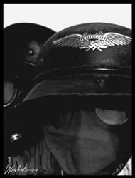 helmets down by Wundenkuessen