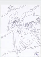 Ran and Shinichi love by Sheep-in-the-moon