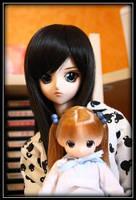 Natsu and Miu 2 by Psychomynx