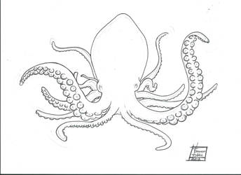 Octopus by DreamingTommy