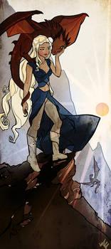 Daenerys by ayanimeya