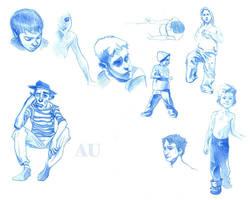 Kid Studies --And MIME-- by ayanimeya