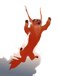 horned-devil cat by ayanimeya