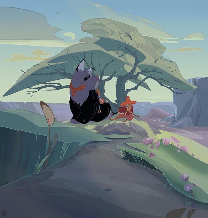 Tok and Barnaby by ayanimeya