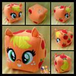 Applejack Cube Pony by Memes-tyan