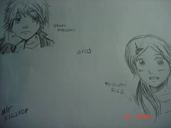 koizumi risa and otani atsushi by Blessed-Blade