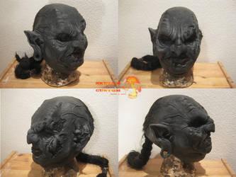 Grey Ogre Mask by Rashat