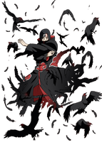 Itachi render 1 by Husachi