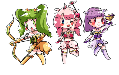 Long Live The Queen Chibis by ChibiYouko