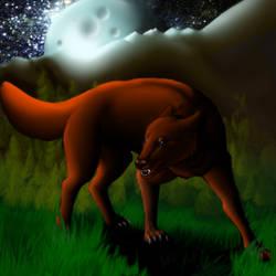 Ians Werewolf Bite by LeonaGold