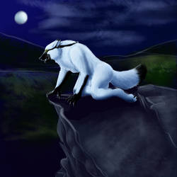 White Lycan by LeonaGold