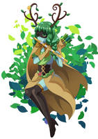 Huntress Wizard by hoxitoki