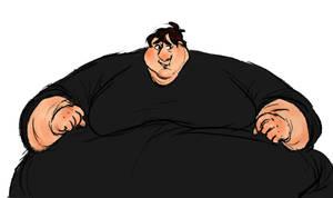 Black shirt by tubbertons