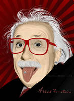 Stylish Einstein by kioshima