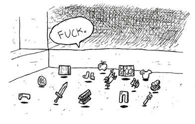 Talking Piles of Items by terra-wah