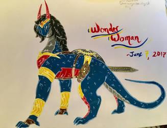 Wonder Woman Dragoness by AlkryEarth17