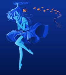 Lost in my world by Bluevelvet07