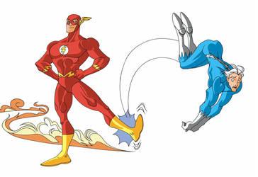Flash vs Quick Silver? by Bluevelvet07