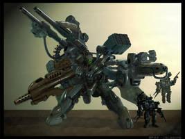 Deimos Heavy Armored by sekido54