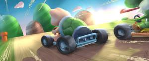 Mario kart by felipao4