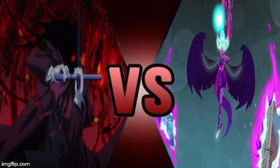 Deathbattle #4 Midnight Sparkle VS Alucard by creepermin3