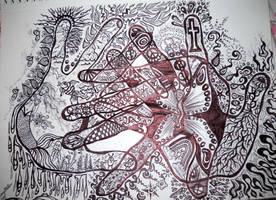 my life in doodles by ziolaranallo