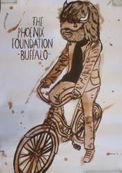 Joaquin Phoenix tribute piece by VonPatrickStudios