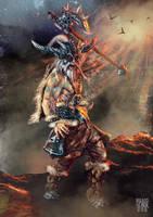 Barbarian by RabidBlackDog