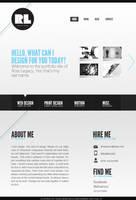 Portfolio Site by incubotic421