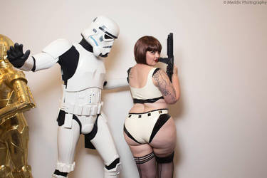 Latex Storm Trooper  by misscrispy3