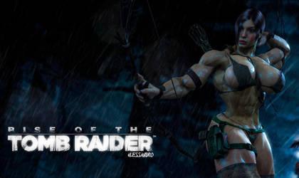 Lara  'Diesel' Croft by alessandro2012