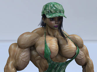 Muscle girls (Differently) by alessandro2012