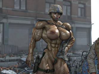 Girl - soldier 2 by alessandro2012