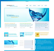 Website Template 9 by IkeGFX