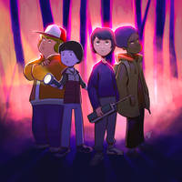 Stranger Things by mikepetherick