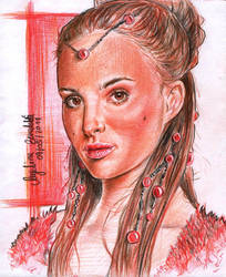 Padme Amidala Concept Art by AngelinaBenedetti