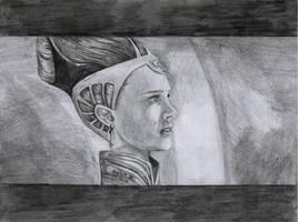 Old Amidala drawing 2008 by AngelinaBenedetti
