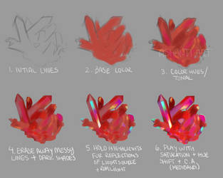 Crystal Tutorial by AshantiArt