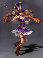 League of Legends: Caitlyn by PencilWarrior