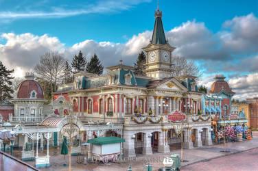 Main Street City Hall by StanThobemmos