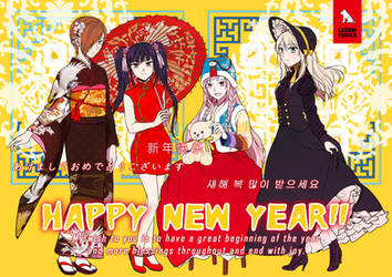 HAPPY NEW YEAR!! by Sakon04