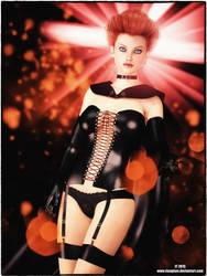 Jean Grey as Black Queen by tiangtam