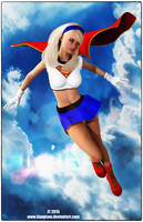 Bruce Timm Supergirl by tiangtam