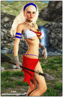 Savage Supergirl v2 by tiangtam