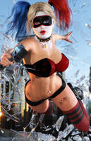 Harley Quinn Party Crasher by tiangtam
