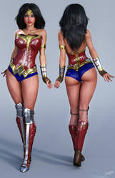 Character Reference Wonder Woman DCCU by tiangtam