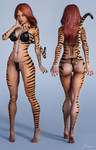 Character Reference Tigra by tiangtam